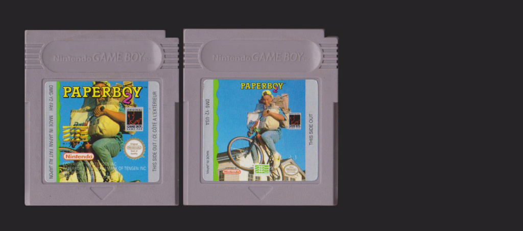 Jeux Gameboy : cartouches et variantes - Page 4 Paperb10