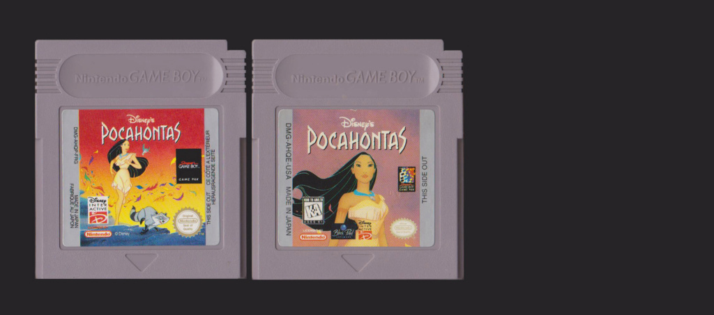 Jeux Gameboy : cartouches, variantes, anecdotes Pocaho11