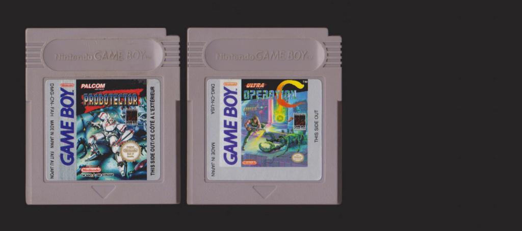 Jeux Gameboy : cartouches, variantes, anecdotes Probot10