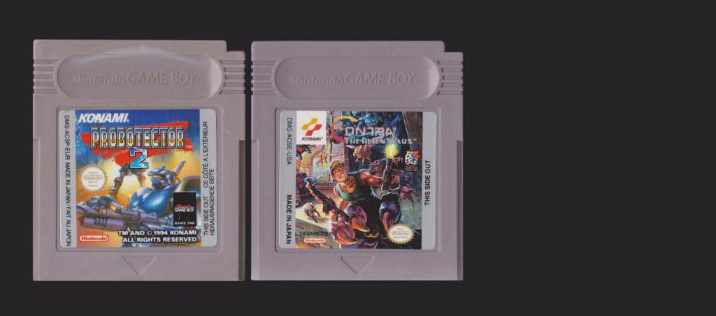 Jeux Gameboy : cartouches, variantes, anecdotes Probot11