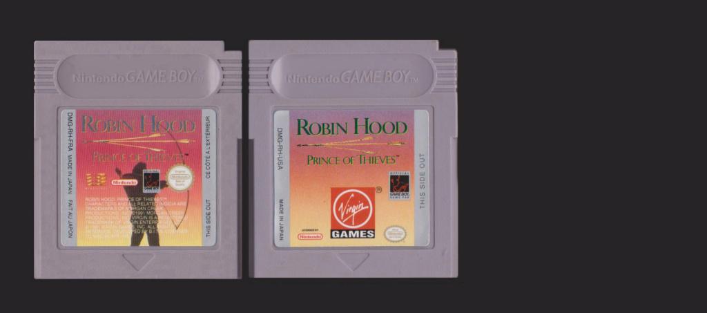 Jeux Gameboy : cartouches et variantes Robin_10
