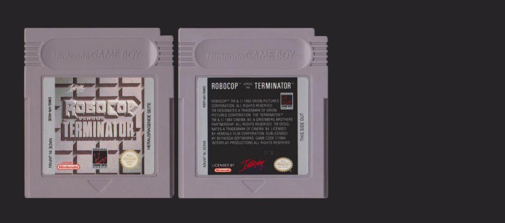 Jeux Gameboy : cartouches, variantes, anecdotes Roboco11
