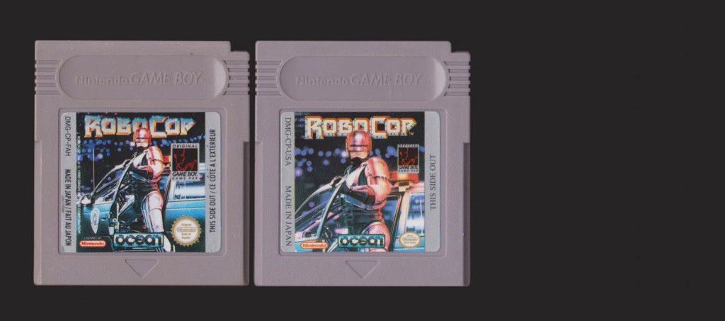 Jeux Gameboy : cartouches, variantes, anecdotes Roboco12