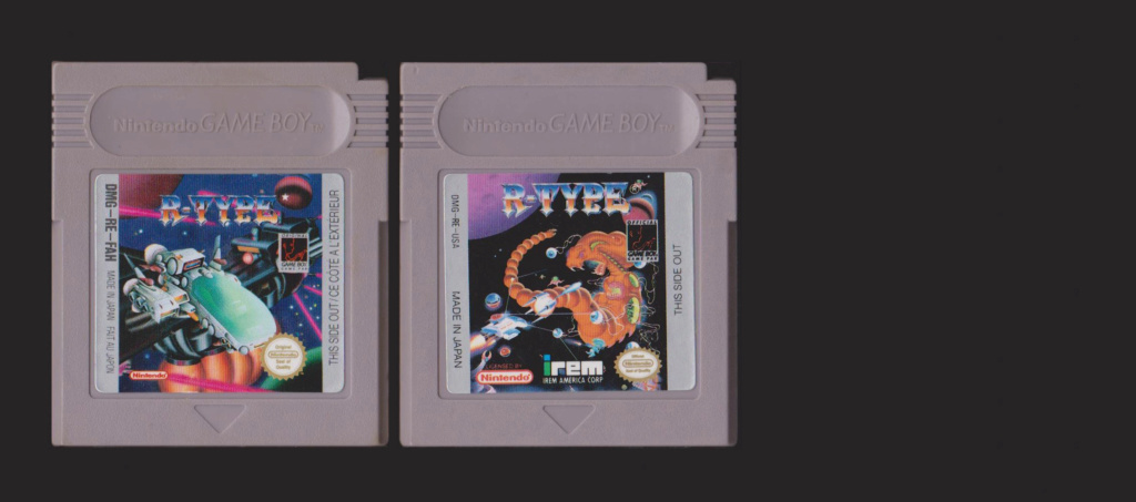 Jeux Gameboy : cartouches, variantes, anecdotes Rtype10