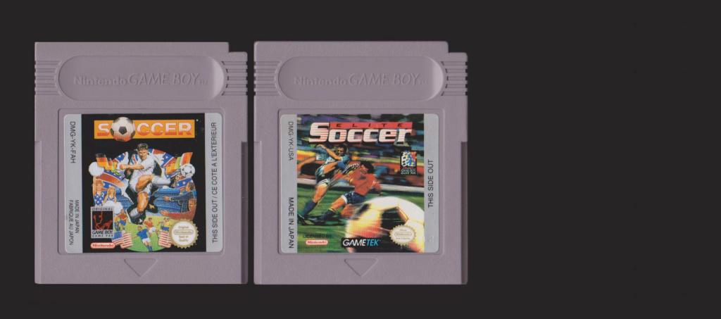 Jeux Gameboy : cartouches, variantes, anecdotes Soccer10