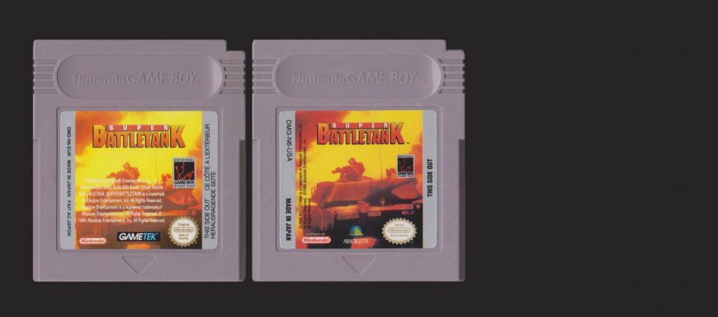 Jeux Gameboy : cartouches et variantes Super_11