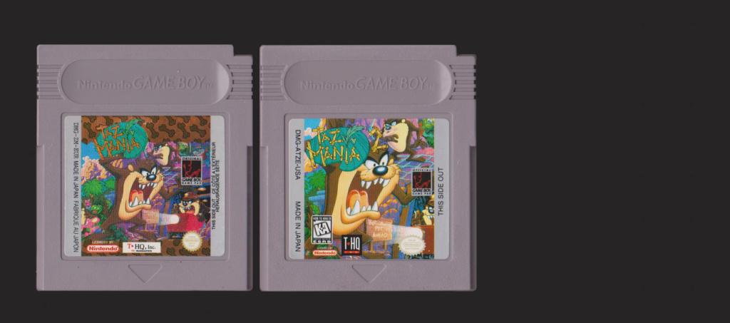 Jeux Gameboy : cartouches, variantes, anecdotes Taz210