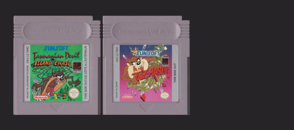 Jeux Gameboy : cartouches, variantes, anecdotes - Page 3 Taz_ma12