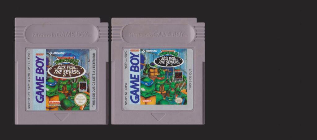 Jeux Gameboy : cartouches, variantes, anecdotes Teenag10