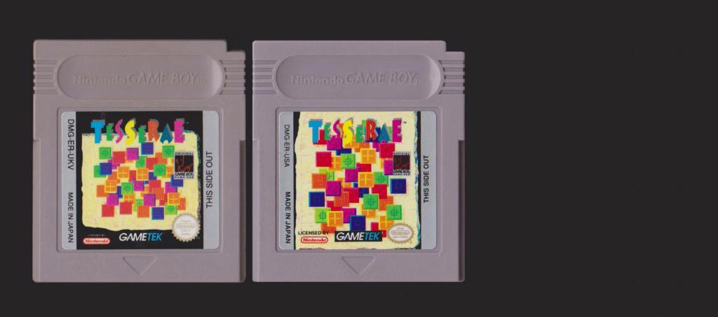 Jeux Gameboy : cartouches, variantes, anecdotes Tesser10