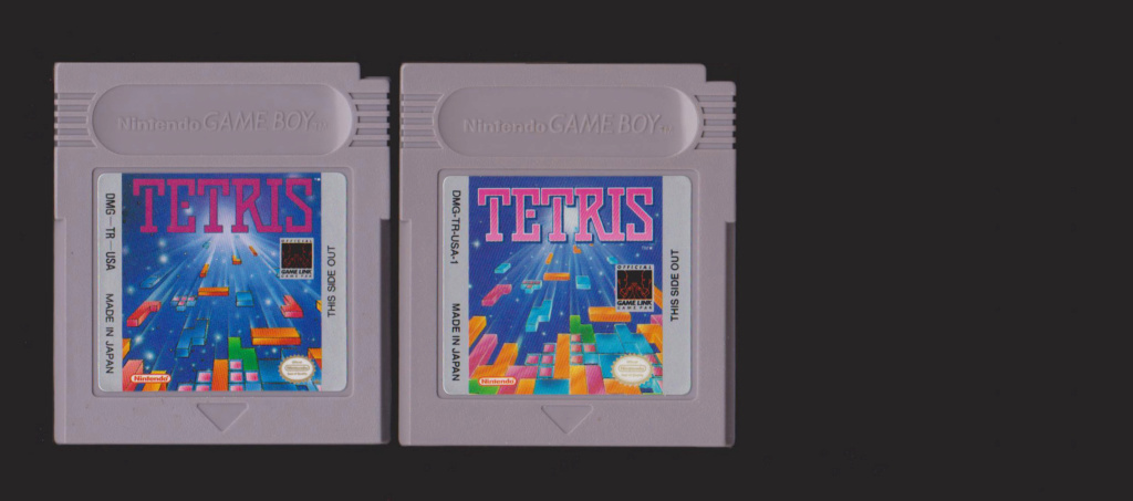 Jeux Gameboy : cartouches, variantes, anecdotes Tetris10