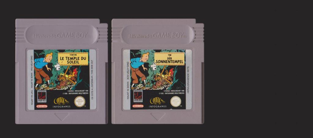 Jeux Gameboy : cartouches, variantes, anecdotes Tintin11
