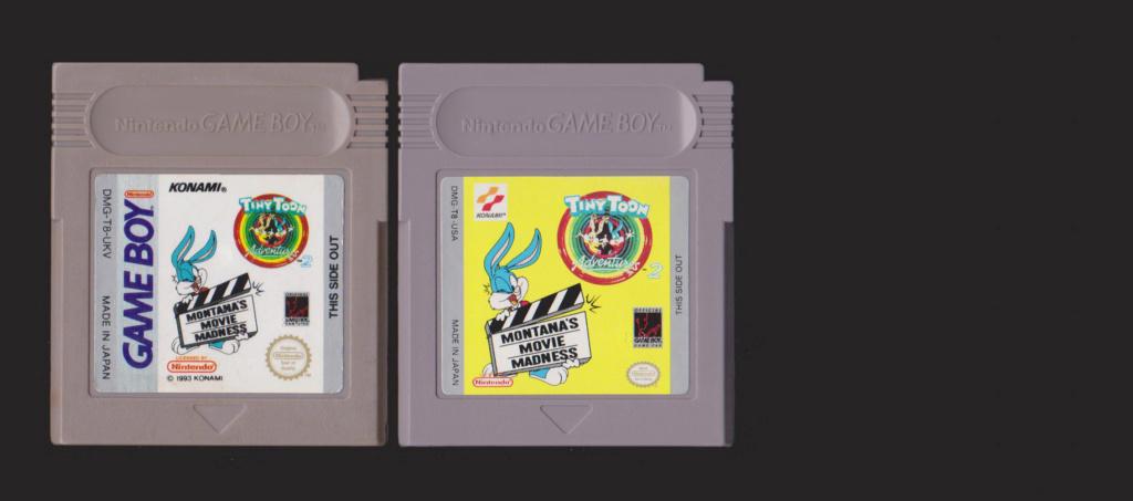 Jeux Gameboy : cartouches, variantes, anecdotes Tiny10