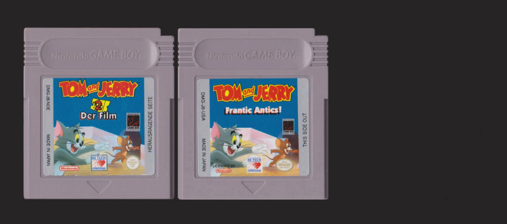 Jeux Gameboy : cartouches, variantes, anecdotes Tom__j10
