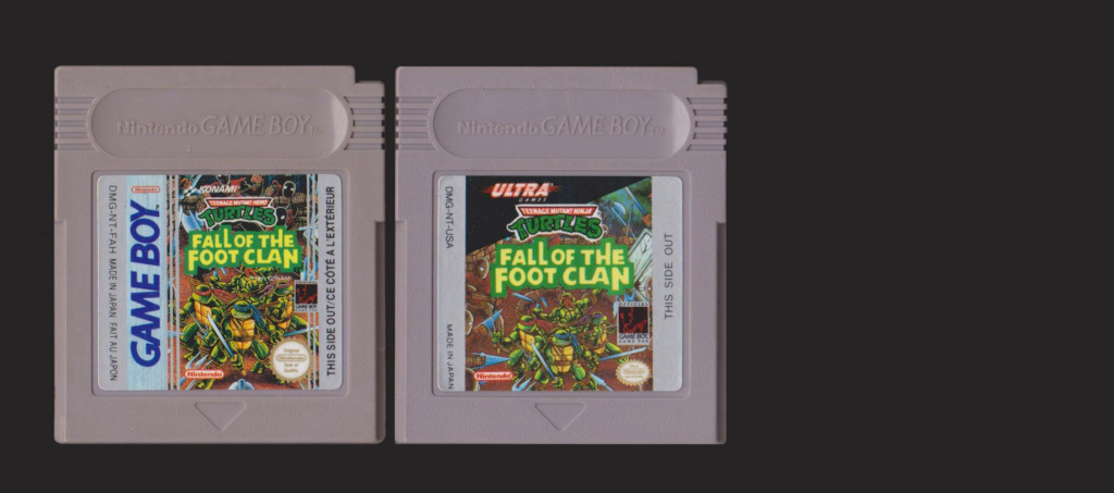 Jeux Gameboy : cartouches, variantes, anecdotes Turtle10