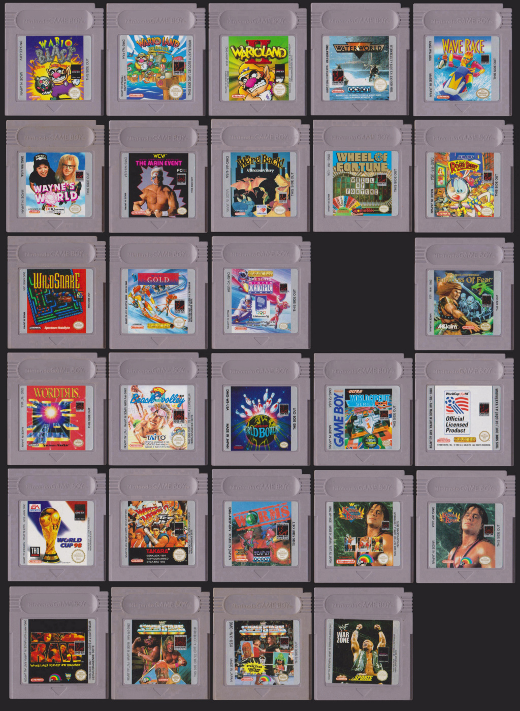 Collection Gameboy W10
