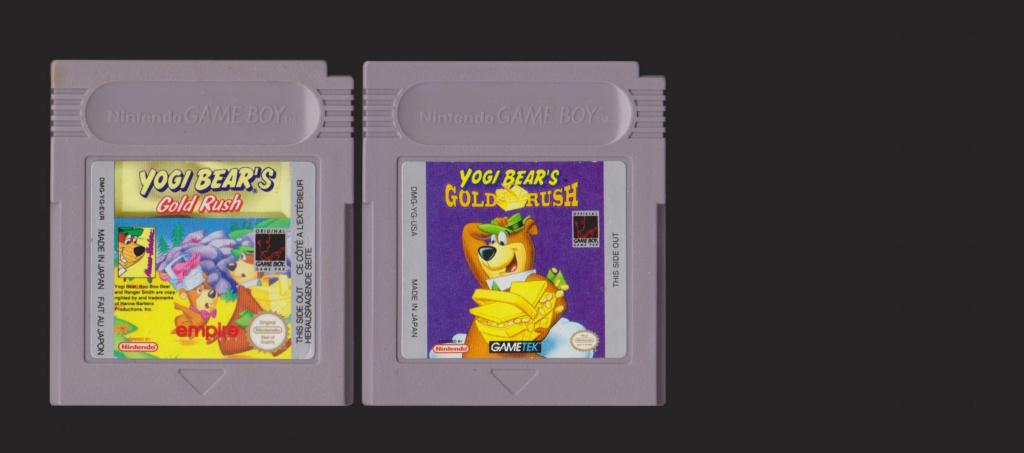 Jeux Gameboy : cartouches, variantes, anecdotes Yogi10