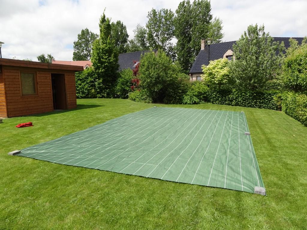 [VENDU] Toile paillage Jardinet verte (neuve) - 5,15 m x 8 m Montag10