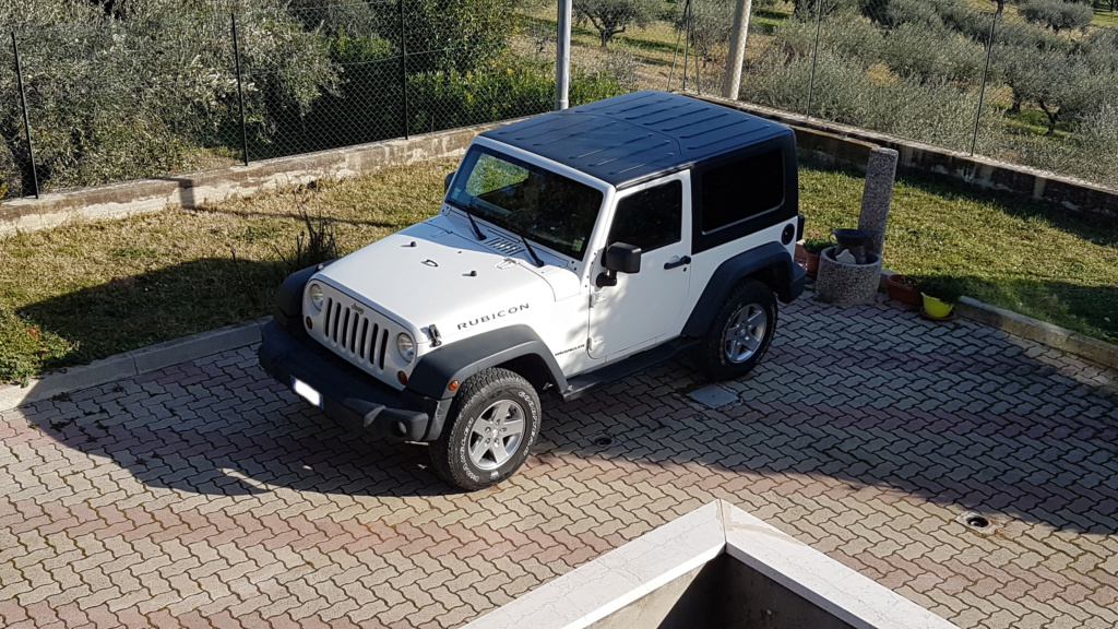 My rubicon Black & White 20181210