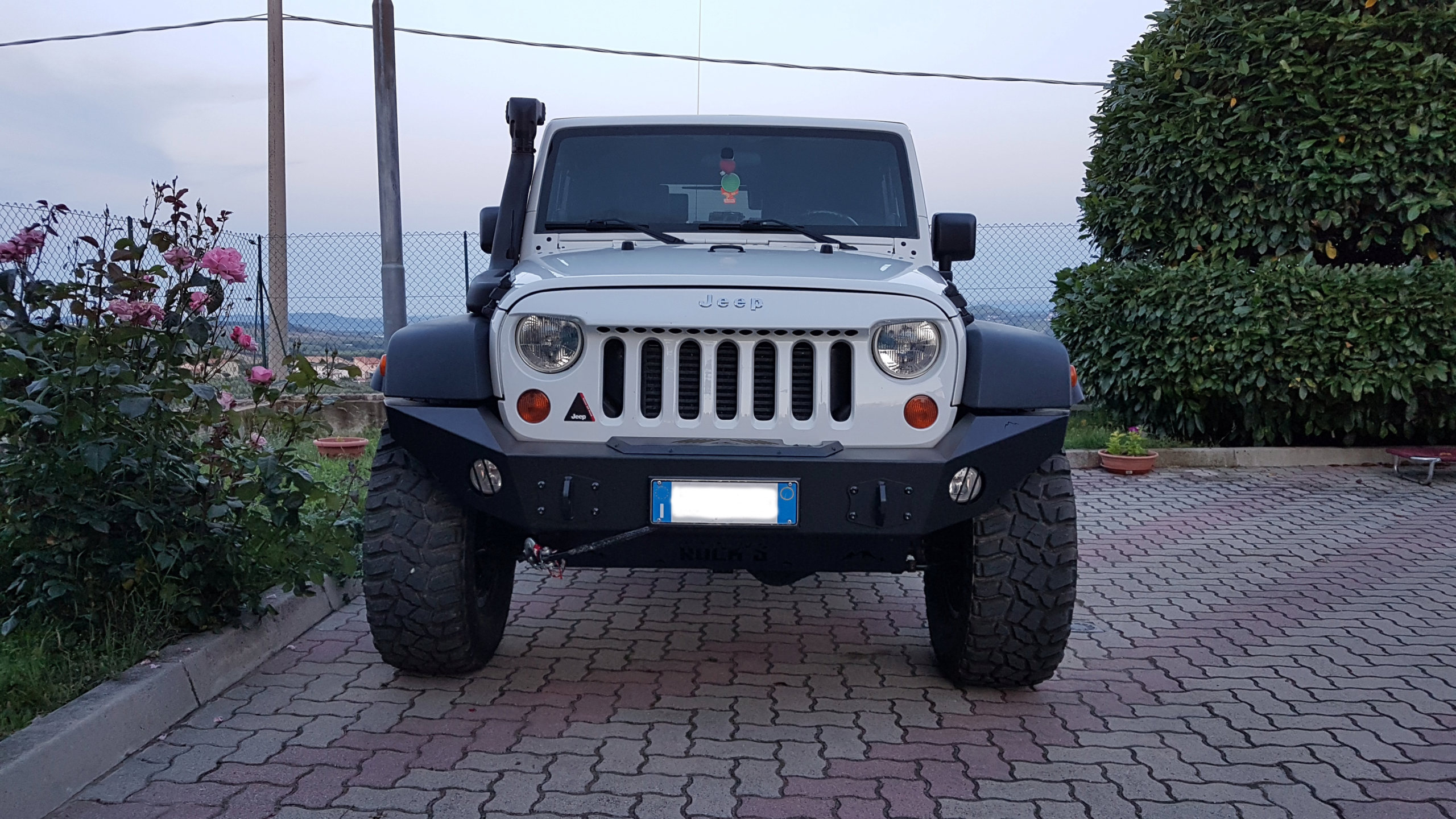 My rubicon Black & White 20190610