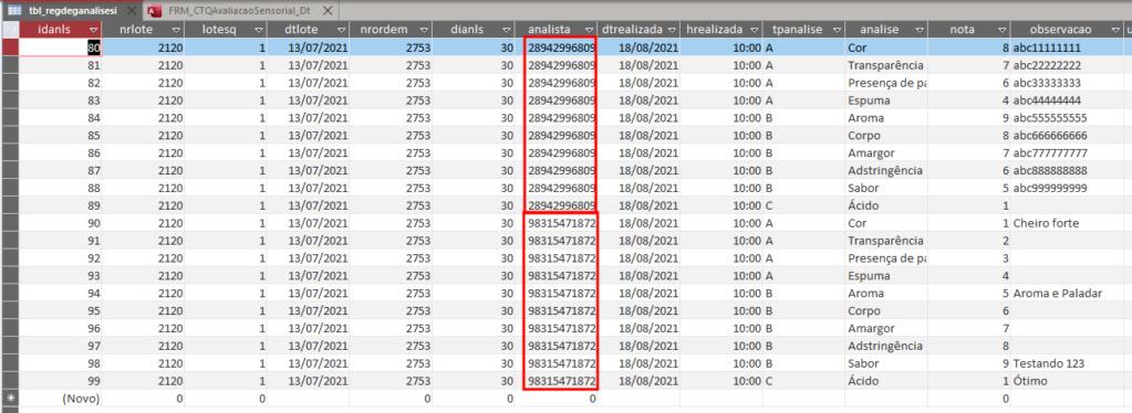 [Resolvido]Subformulário cria registro em outra tabela T9910