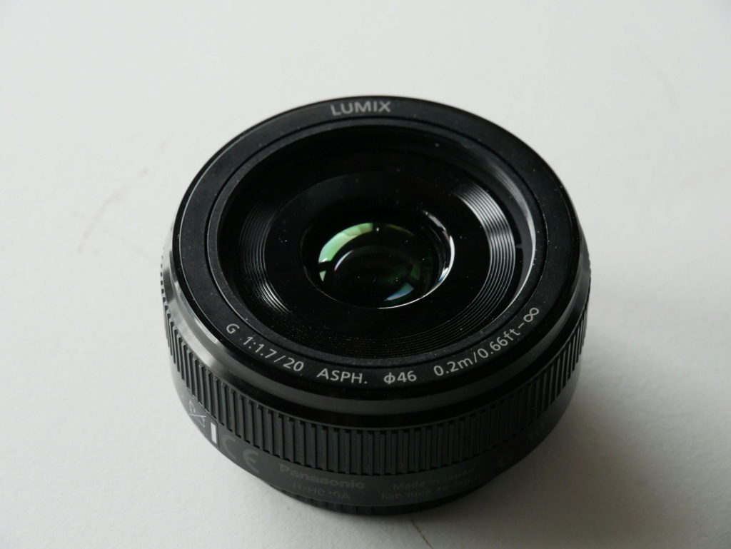 [VENDU] Objectif Lumix G Pancake 20 mm f/1,7 V.2 P1020710