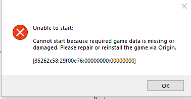 Sims 4 won't open after 1.51 update; Game Missing files Sims_410
