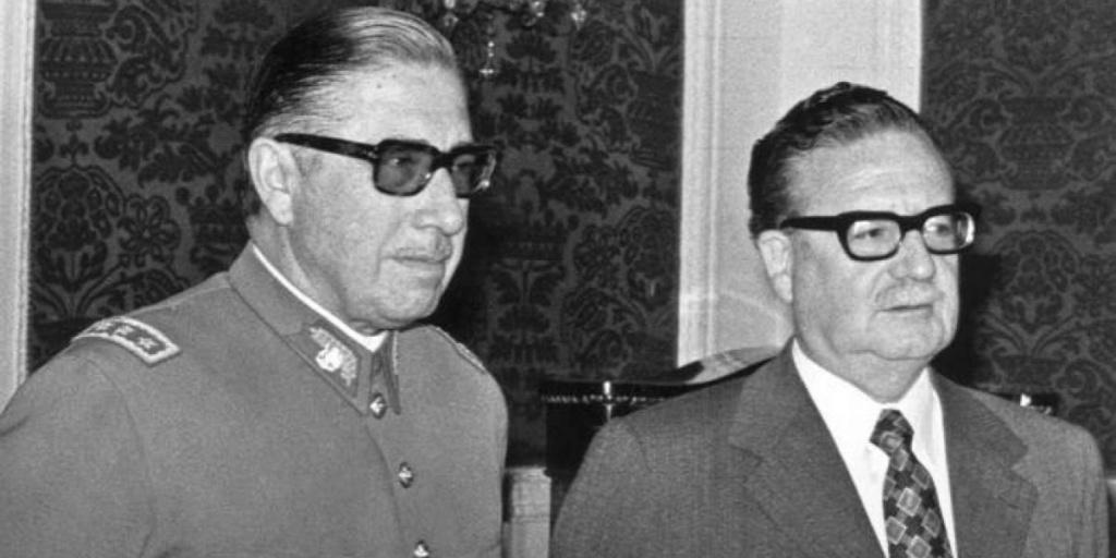 Unidad Popular y golpe militar en Chile hace 40 años. Allende y Pinochet. Documentos de la lucha de clases. [HistoriaC]. Situación actual. 000sap10