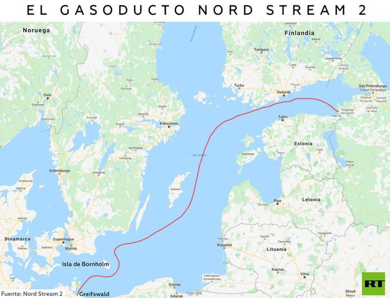 Energía: Gasoducto Nord Stream desde Rusia por el Báltico a la UE. 5db9b410
