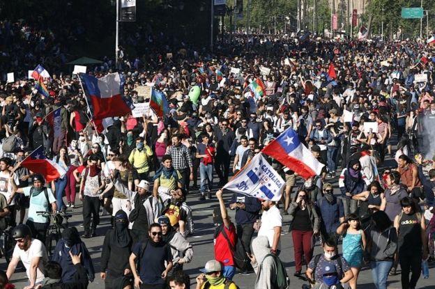 La ONU observa un aumento de las protestas en todo el mundo _1094411