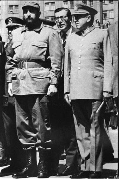 Unidad Popular y golpe militar en Chile hace 40 años. Allende y Pinochet. Documentos de la lucha de clases. [HistoriaC]. Situación actual. Castro10