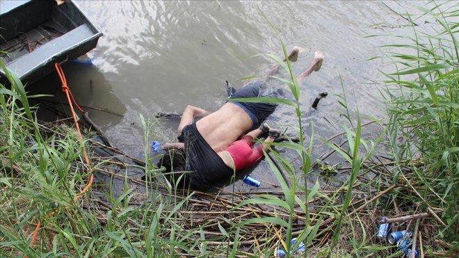 Marchas de migrantes  hacia  EEUU Padre-10