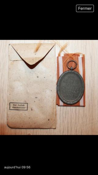 Médaille allemande mur de l'Atlantique 49d3d910