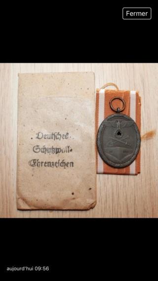 Médaille allemande mur de l'Atlantique D393c110