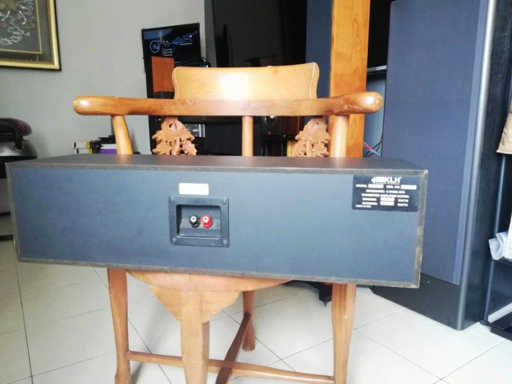Klh audio v-354 center speaker (used) 0123b810