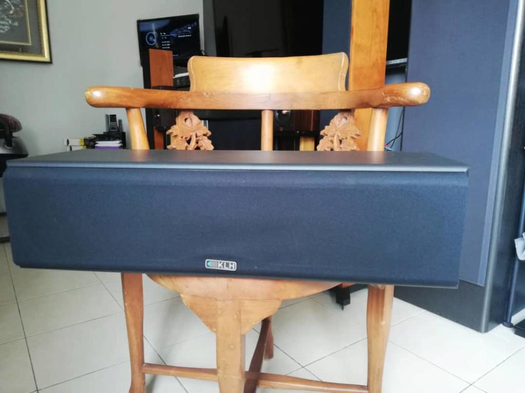 Klh audio v-354 center speaker (used) 602db010