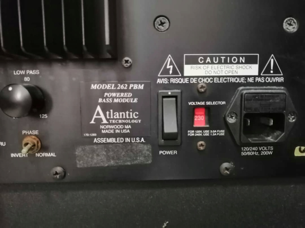 """Atlantic 12"""" subwoofer made in usa 784d2a10"""