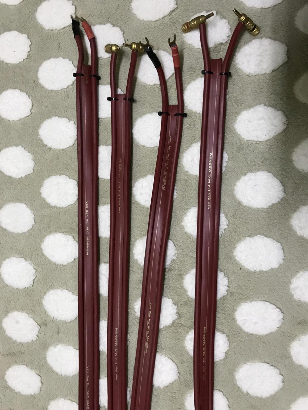 Van den hul m.c magnum speaker cable 3.2m(used) B78de510