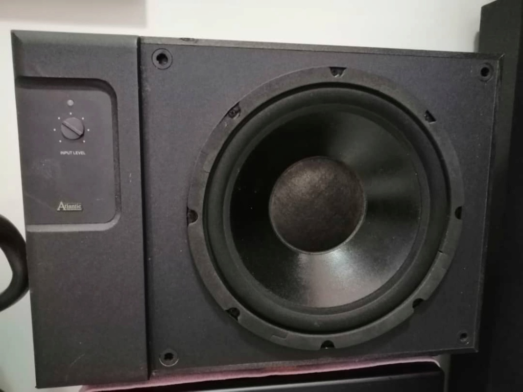 """Atlantic 12"""" subwoofer made in usa F9752510"""