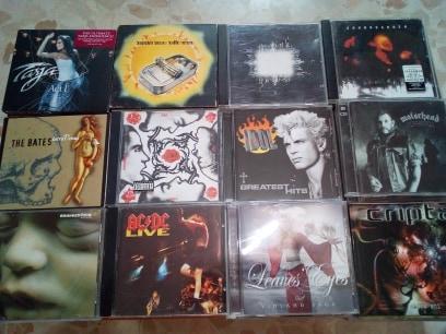 vendo cds,rock & metal variado.Actualizado 27/07/19 0210