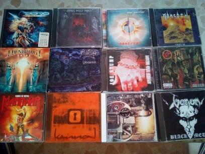 vendo cds,rock & metal variado.Actualizado 27/07/19 1010