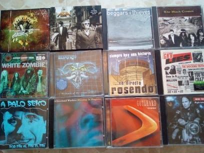 vendo cds,rock & metal variado.Actualizado 27/07/19 2210