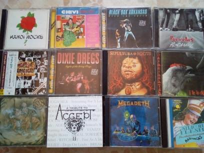 vendo cds,rock & metal variado.Actualizado 27/07/19 2310