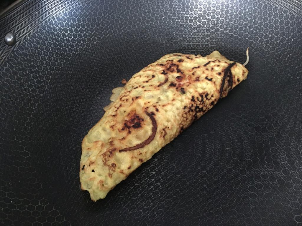 Bánh xèo chảo Hexclad siêu to khổng lồ  Image15