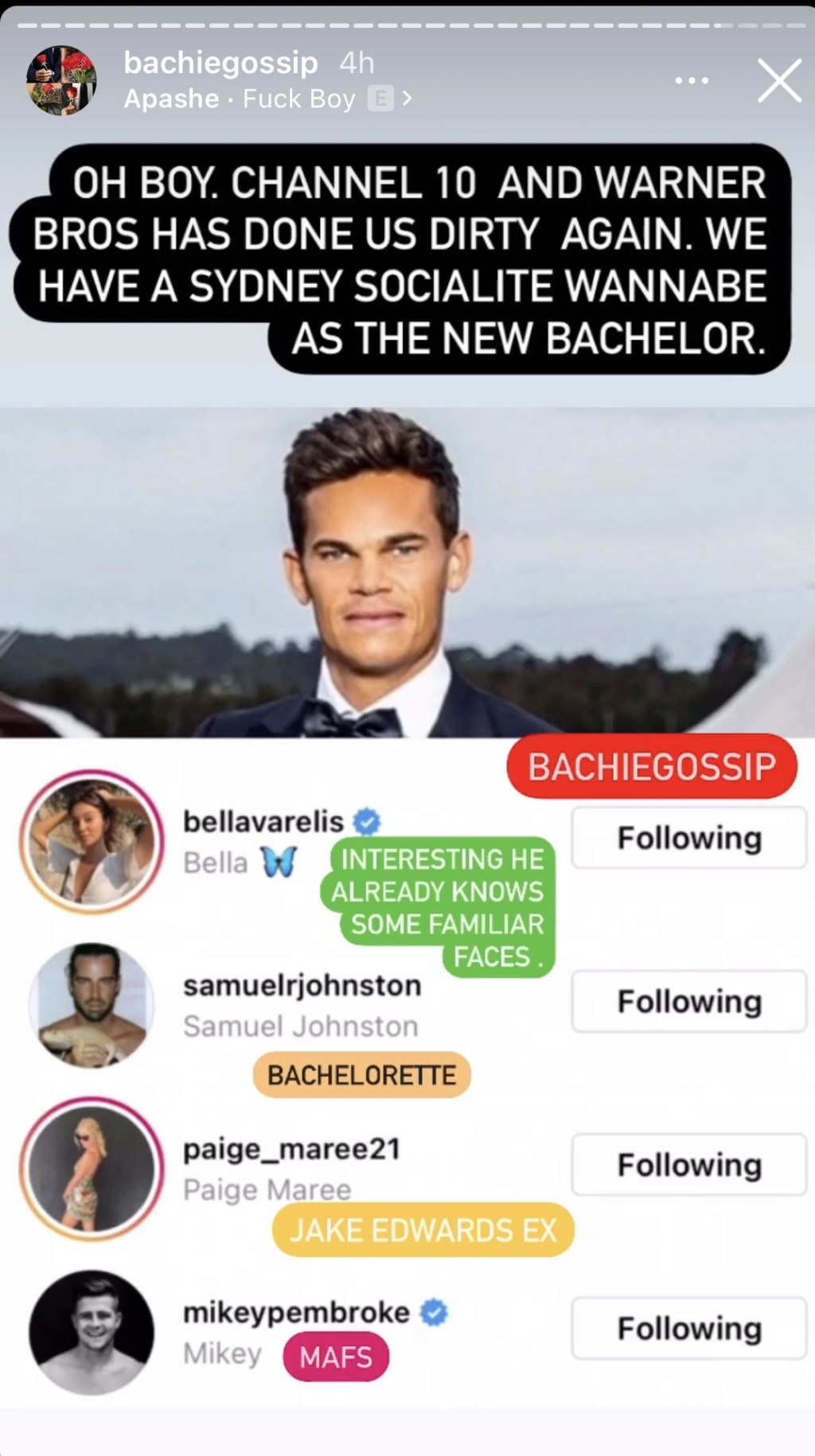 Bachelor Australia - Season 9 - Jimmy Nicholson - Discussion - *Sleuthing Spoilers*  - Page 8 9cf42410
