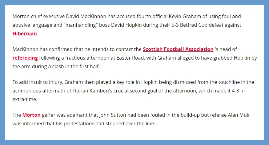 Hibs v Morton - Betfred Cup - Page 2 Screen12