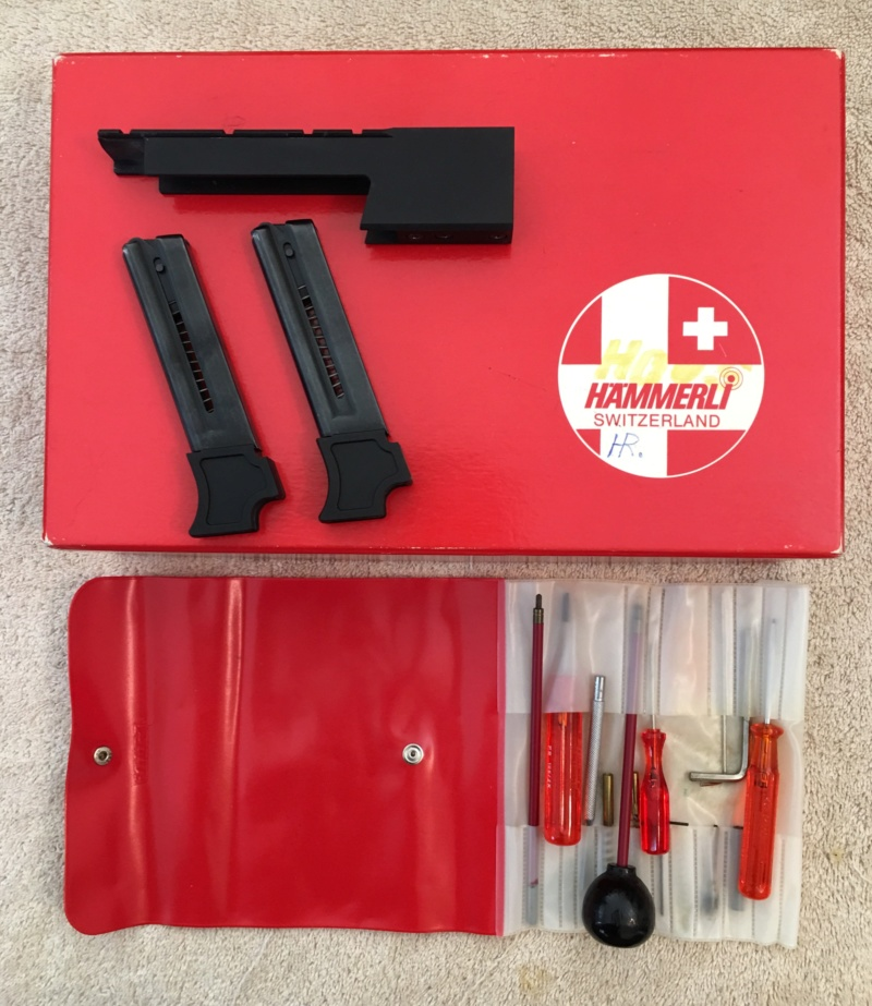 SOLD: Hammerli 215 with original box, tool kit and factory mount Img_e429