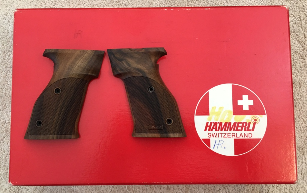 WTS: Nill ambi grips for Hammerli 208, 215 Img_e432
