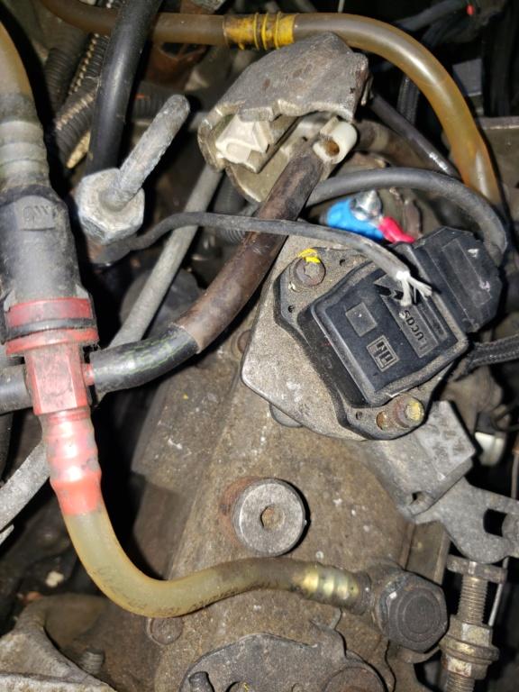[ Renault Kangoo 1,9D an 1999 ] ne démarre plus, pas de gazole au injecteur  20191010