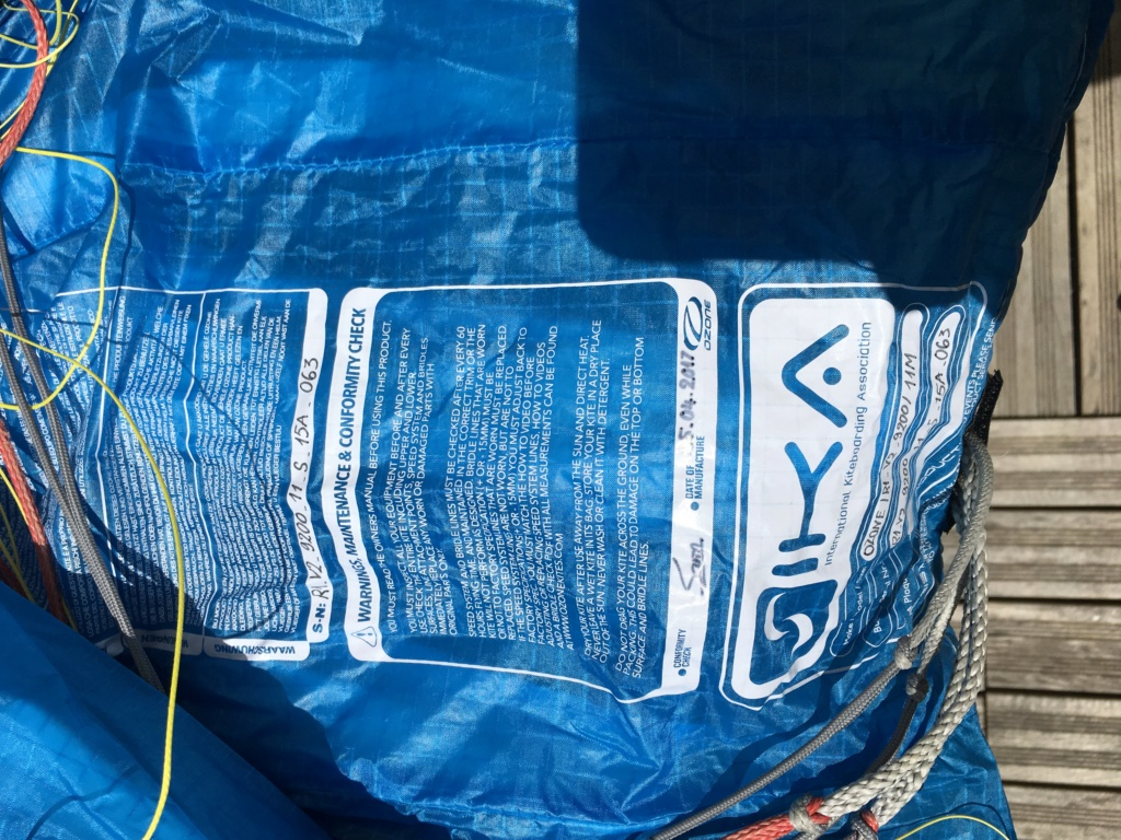 Ozone R1V2 11m bleue E10